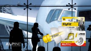 Alpine FlytFit ørepropper - perfekt til flyrejsen