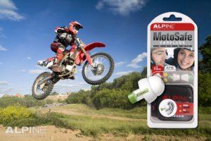 Alpine MotoSafe ørepropper tiil Motocross