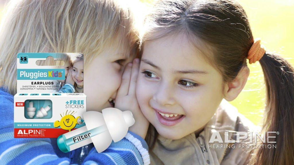 Alpine Pluggies Kids børne ørepropper