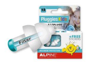 Alpine Pluggies Kids de bedste ørepropper til børn