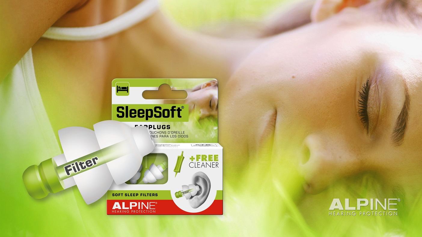 Alpine SleepSoft ørepropper til en god nattesøvn