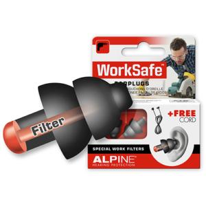Alpine WorkSafe ørepropper - beskyt hørelsen med høreværn