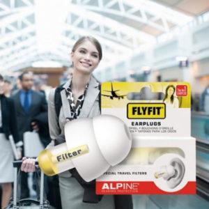 Alpine FlytFit ørepropper til flyrejsen - mod støj og tryk i ørerne