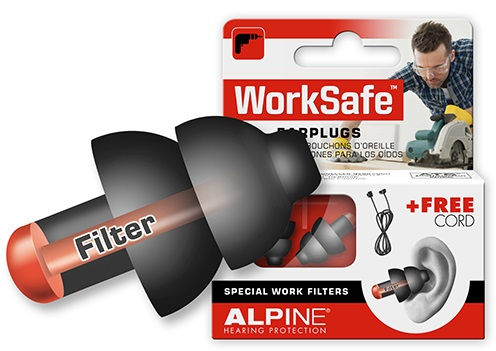Alpine WorkSafe hørepropper