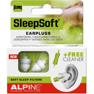 Alpine SleepSoft ørepropper - vågn veludhvilet