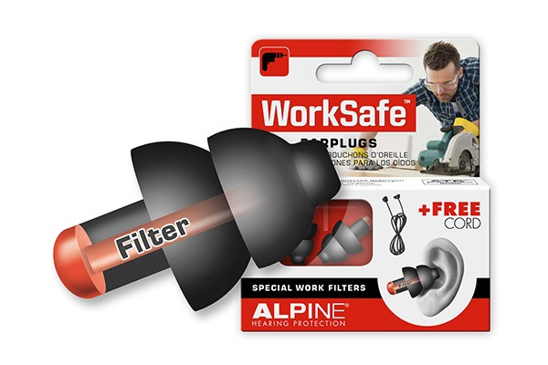 Alpine WorkSafe ørepropper