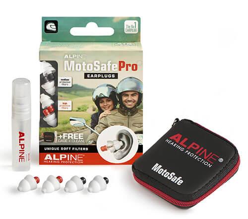 to sæt høreværn til motorcyklister - Alpine MotoSafe Pro ørepropper