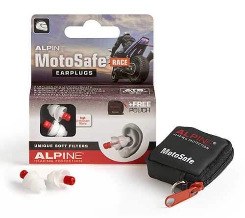 Alpine MotoSafe Race ørepropper til motorcyklister