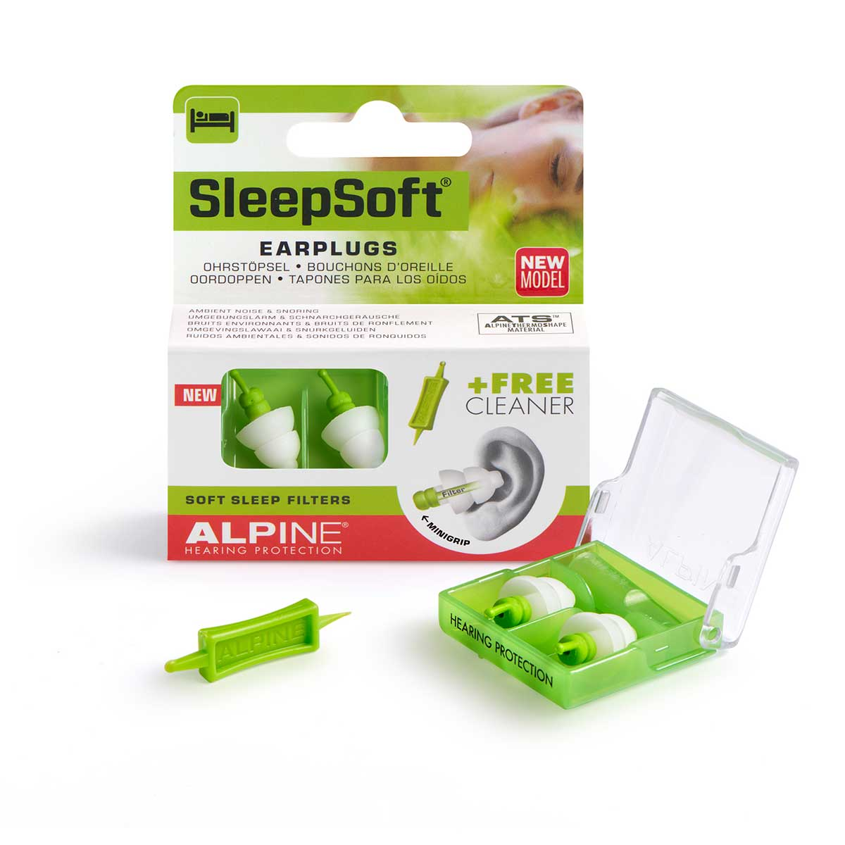 Alpine SleepSoft Minigrip ørepropper