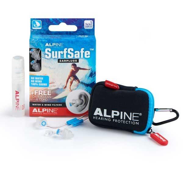 Alpine SurfSafe ørepropper med opbevaringsæske